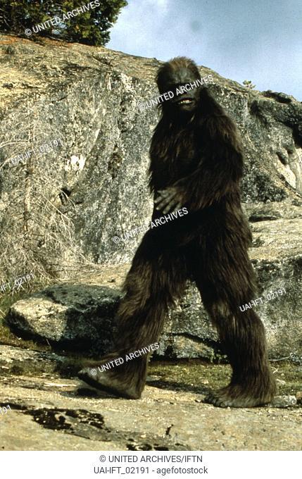 Bigfoot: The Unforgettable Encounter, aka: Bigfoot - Mein großer Freund, USA 1994, Regie: Corey Michael Eubanks, Darsteller: Gary Maloncon