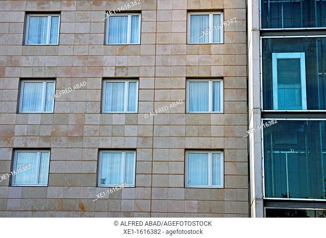 Lift, Hotel Novotel, Cornella de Llobregat, Catalonia, Spain