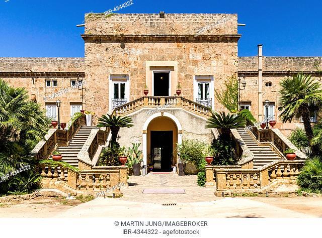 Villa Boscogrande, location of The Leopard or Il Gattopardo by Luchino Visconti, Palermo, Province of Palermo, Sicily, Italy