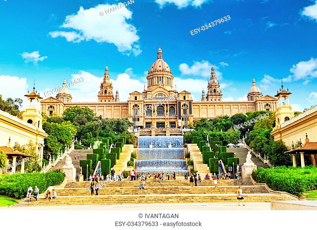 National Art Museum of Catalonia. Museum of Barcelona