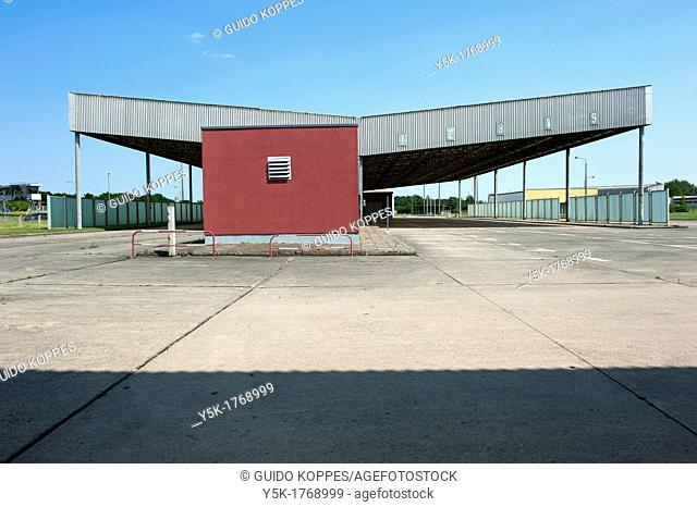 Helmstedt-Marienborn, Germany. Former border-station between West-Germany and Berlin in East-Germany