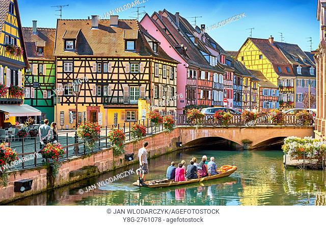Half-timbered houses, Colmar, France