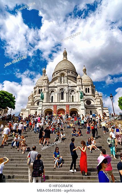 Basilica Sacré-Cur, Paris, France