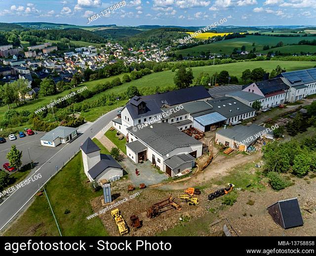 Ehrenfriedersdorf visitor mine