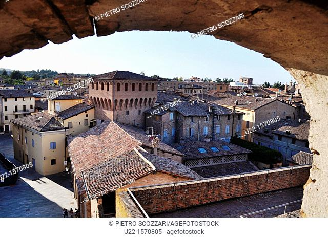 Vignola (Modena, Italy): view of the town from the Castle