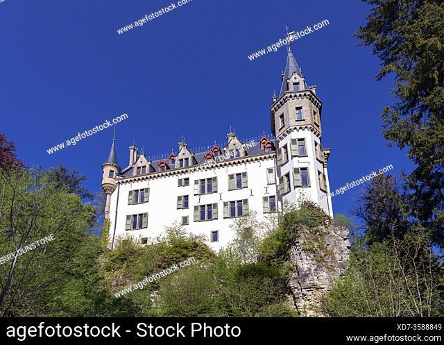 Europe, Luxembourg, Larochette, Meysembourg Castle