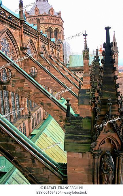 Strasbourg in Alsace, France