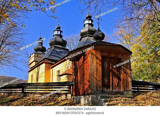 Orthodox Church of Our Lady of care in Hanczowa, Lesser Poland Voivodeship, Poland