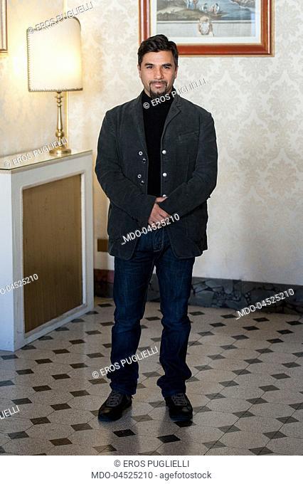 """Il regista Eros Puglielli al photocall della Fiction Mediaset """"""""Il Bello delle Donne...alcuni anni dopo"""""""". Palazzo Ferrajoli, Roma 10 Gennaio 2017"""