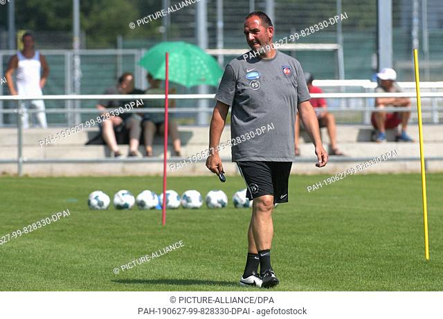 SOCCER 2ND BUNDESLIGA TRAINING KICK OFF FC HEIDENHEIM (6/26