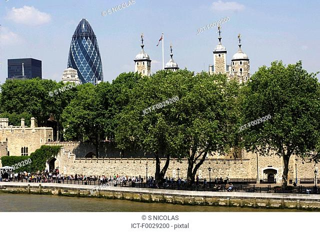England, London, Tower of London