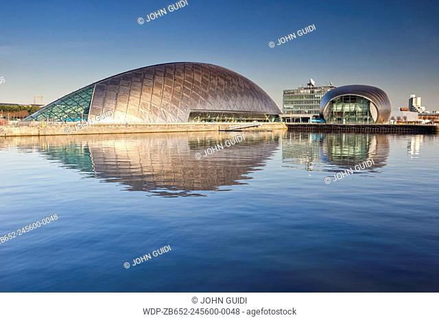 Science Museum and IMAX cinema, Glasgow, Scotland, UK