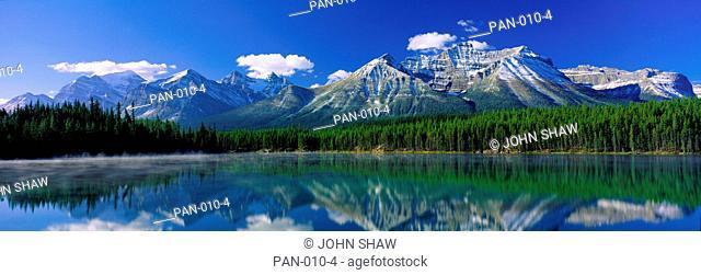 Herbert Lake and Mount Reflection, Banff National Park, Canada