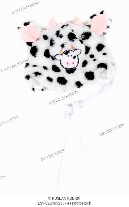 Children's winter hat with pattern