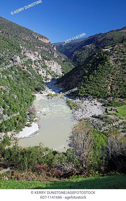 Morocco Rif Mountains Oued Laou Valley