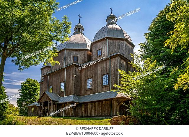 Exaltation of the Holy Cross church, Dluzniow, Lublin Voivodeship, Poland