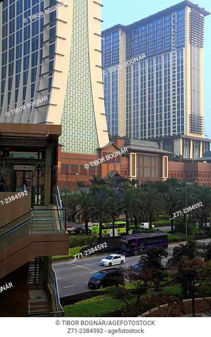 China, Macau, Cotai Strip, hotels, casinos