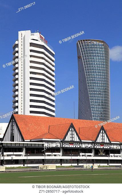 Malaysia, Kuala Lumpur, Merdeka Square, Royal Selangor Club,