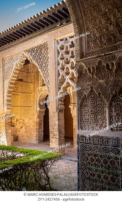 Alcazar of Seville (Spain)