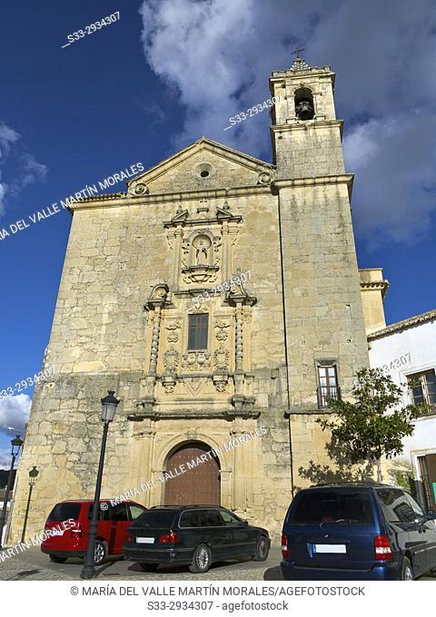 San Antonio church in Montefrio. Granada. Andalucia. Spain. Europe