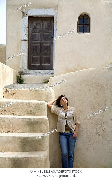 Santorini island, Cyclades islands, Aegean Sea, Greece, Europe