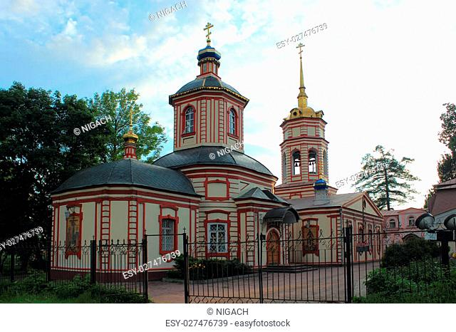 Temple of the Exaltation of the Holy Cross in Altufevo