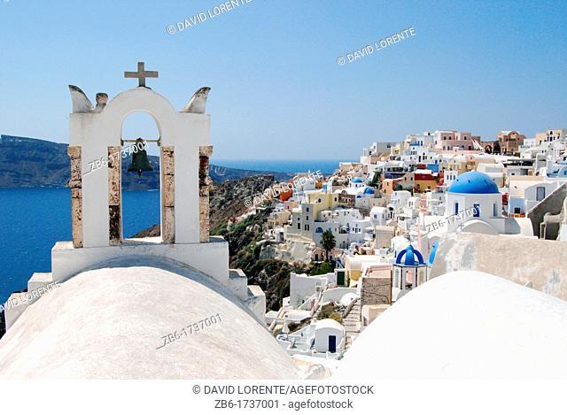 View of Oia. Santorini. Greece