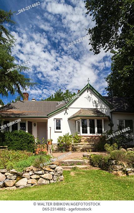 Australia, South Australia, Adelaide Hills, Hahndorf, The Cedars, former home of landscape painter Hans Heysen, exterior