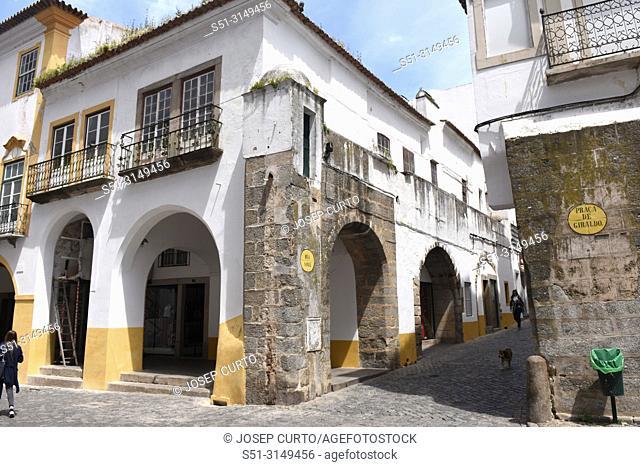old town Evora, Portugal