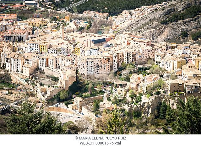 Spain, Cuenca, cityscape
