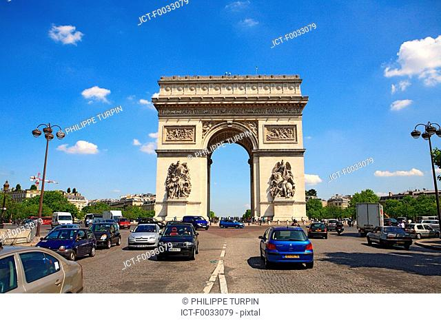 France, Paris, Arch of Triumph