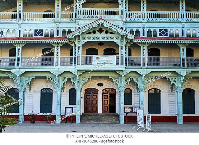 Tanzania, Zanzibar island, Unguja, Stone Town, unesco world heritage, the Old Dispensary, now Cultural Center