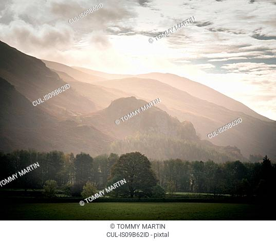 Mist over St John's in the Vale, The Lake District, UK