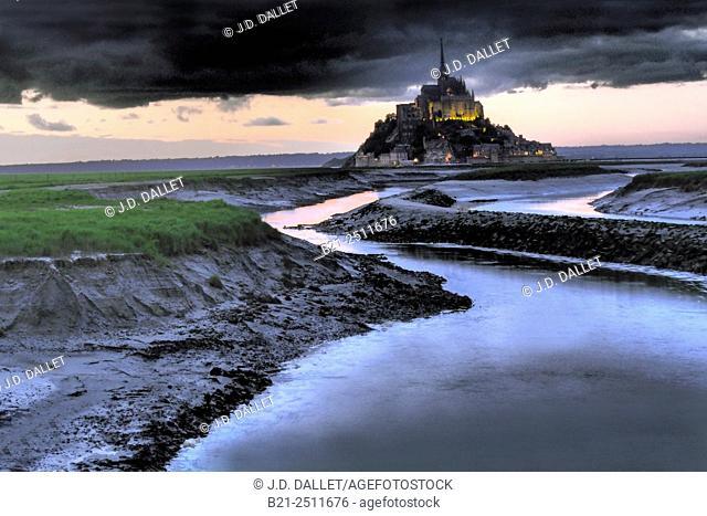 Mont Saint-Michel, Manche, Normandy, France