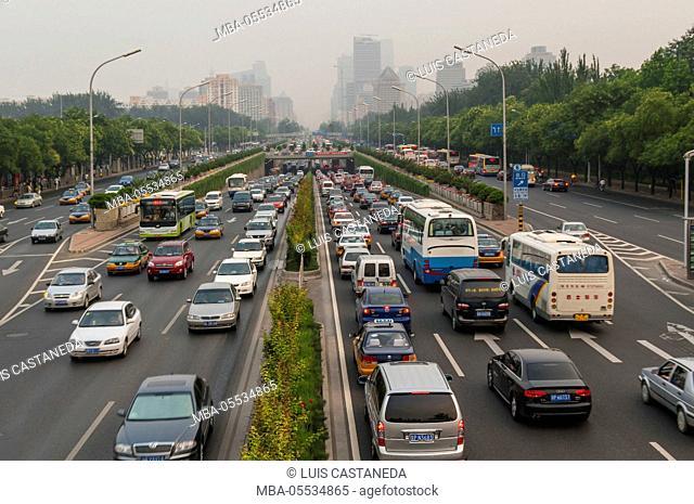 Beijing Traffic, China
