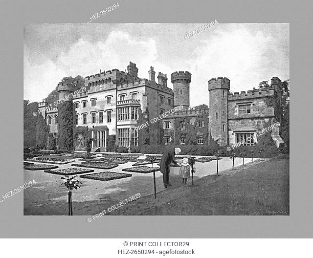 Hawarden Castle, c1900. Artist: Catherall & Pritchard
