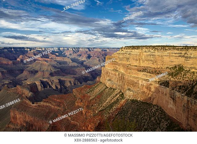 Grand Canyon seen from Mohave Point, South Rim, Arizona, United States