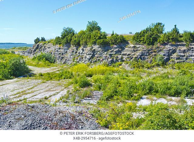 Muula maed, Muula hills, site of former fortress bastions designed by Peter the Great, Paldiski, Pakri peninsula, Estonia