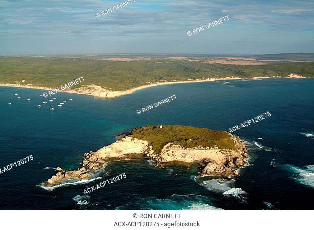aerial, Hamelin Island, Hamelin Bay, Western Australia