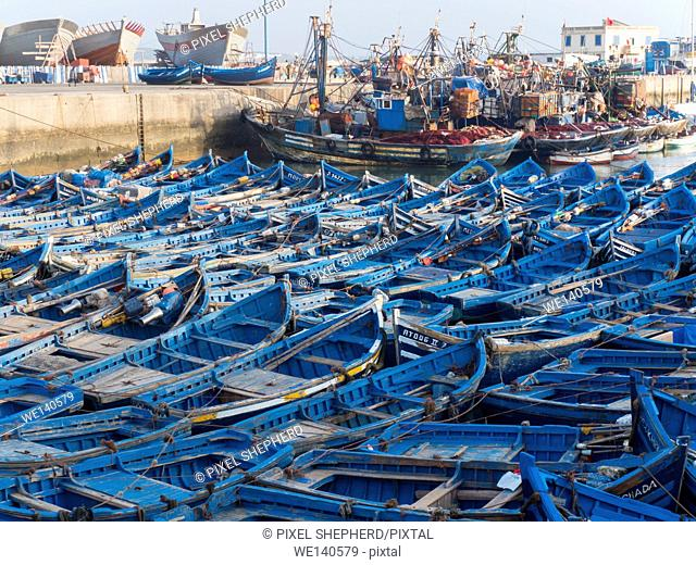 Morocco, Essaouira fishing port