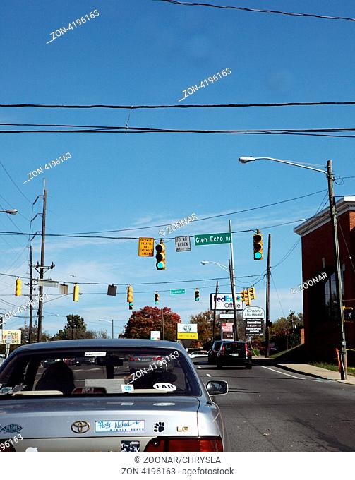 Hauptstrasse in Georgia, USA