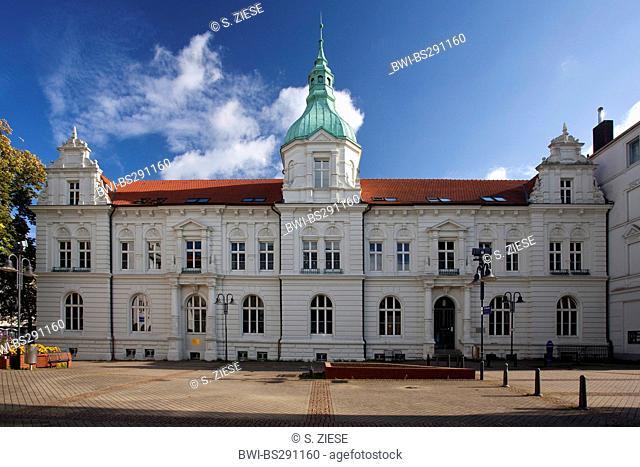 old townhall of Bochum-Wattenscheid, Germany, North Rhine-Westphalia, Ruhr Area, Bochum
