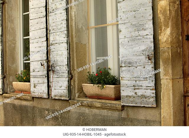 Rustic Window Shutters, Rh™ne-Alpes, France
