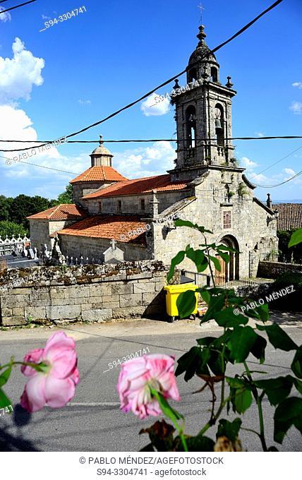 Parish church of San Xoan de Rio, Orense, Spain