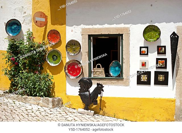 historic town Obidos near Caldas da Rainha, Leiria district, UNESCO heritage, Portugal