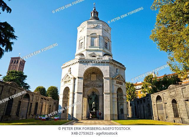 Tempio della Vittoria, from 1930, Piazza Sant'Ambrogio, Milan, Lombardy, Italy