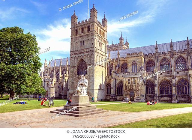 Exeter Cathedral, Devon, England, United Kingdom