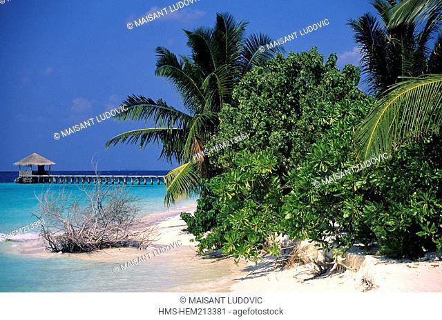 Maldives, South Ari Atoll, White Sands Resort & Spa