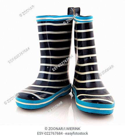 Rubber child boots