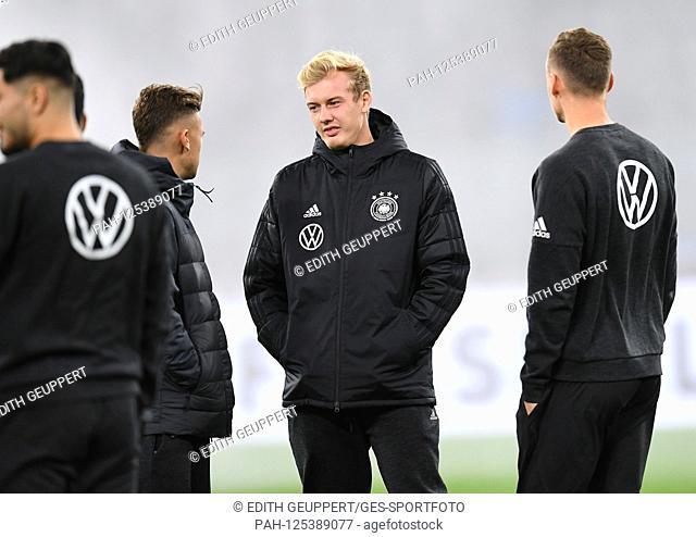 Julian Brandt (Germany) before the game. GES / Football / Friendlies: Germany - Argentina, 09.10.2019 Football / Soccer: Friendly match: Germany vs Argentina